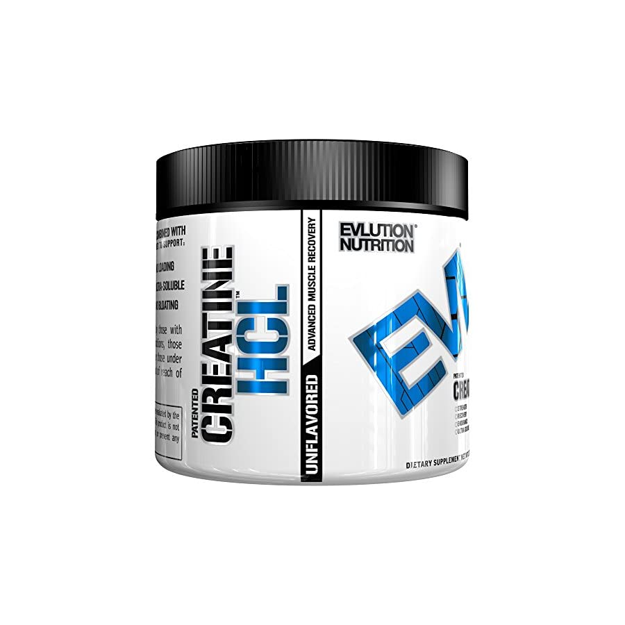 Evlution Nutrition Creatine HCL 60 serving, Unflavored Powder