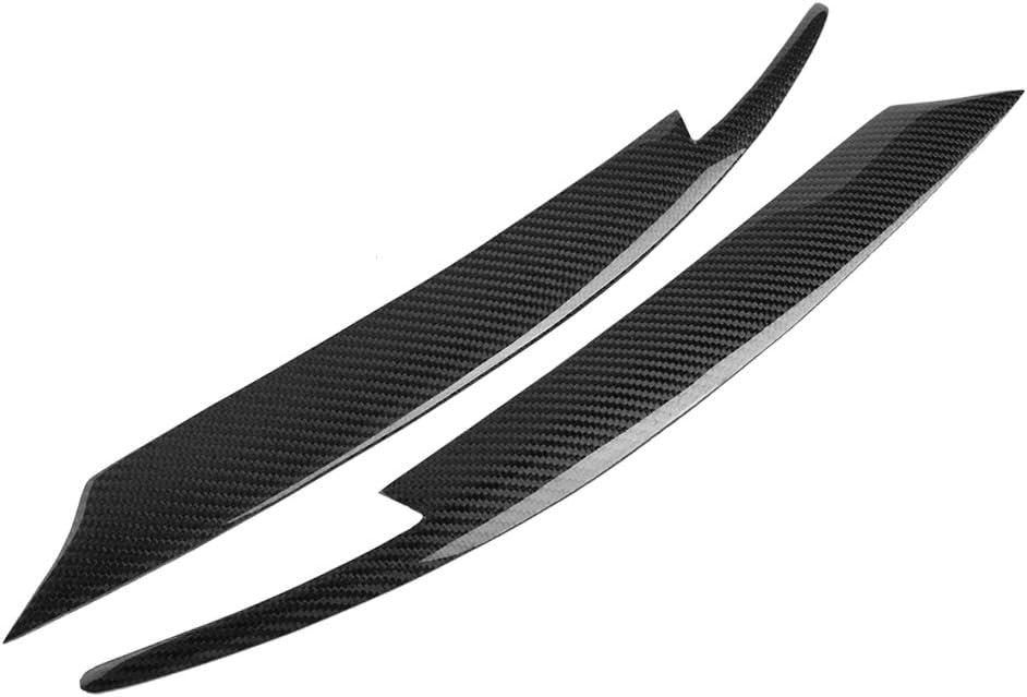 p/árpados de fibra de carbono para Su-baru Im-preza WRX STI 2008-2011 2pcs Decoraci/ón de la cejas del faro