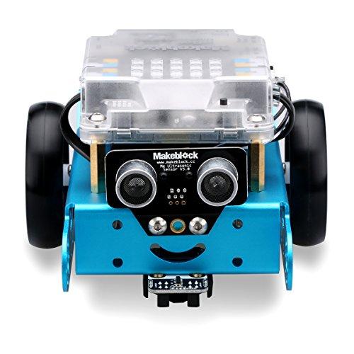 image Makeblock MBot kit Robot Educatif DIY Mbot V1.1 Arduino Programmation Graphique en C Version Bluetooth - Blue (Nouvelle Génération)
