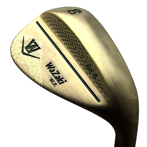 Japan Wazaki Copper Finish M Pro Forged Soft Iron USGA R A rules of Golf Club Wedge Set(pack of three) by wazaki (Image #2)