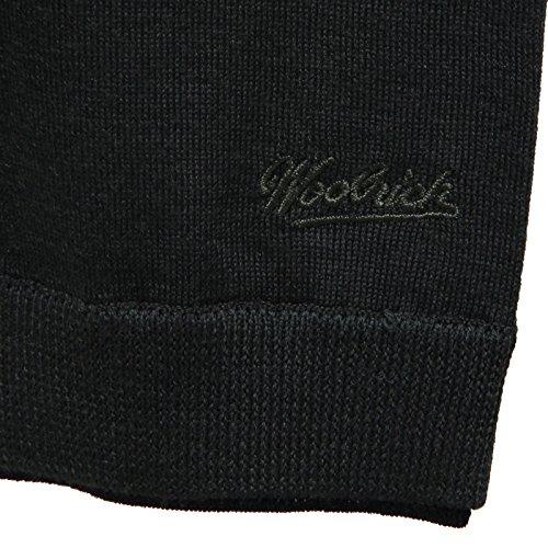 Pullover Collo Verde Blu Verdone Military In Lana Merino Ultraleggero Contrasto Woolrich Ultrafine Toppe E C Contrast Neck qawPTRX