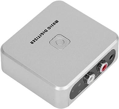RCA Left /& Right Channels Music Digitizer 128Kbps U Disk//SD Card MP3 Digitizer Zerone 3.5mm Audio Capture Box