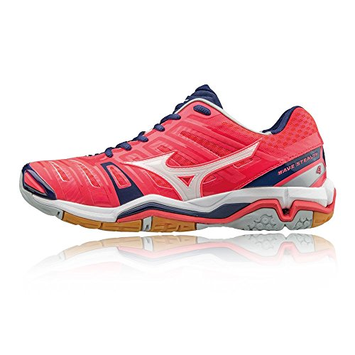 Women's Indoor Ss17 Zapatillas Mizuno Stealth 4 Rosa Wave qBB1vtfH