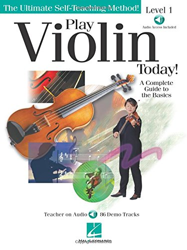 - Play Violin Today!: A Complete Guide to the Basics Level 1 (Ultimate Self-Teaching Method!)