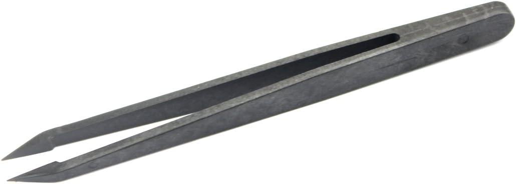 Family Must-Have Repair Tool for Digital Product Repair JF-S12 Anti-Static Carbon Fiber Straight Tip Tweezers for Phone Convenient