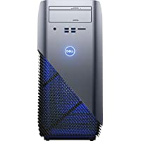Dell - Inspiron Desktop - AMD A10-Series - 8GB - AMD Radeon RX 560 - 1TB HD - Blue w/ Solid Panel
