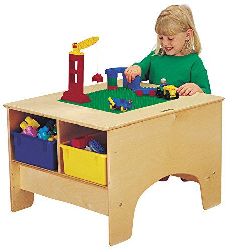 UPC 743080016577, Jonti-Craft 57459JC KYDZ Building Table, Duplo Compatible with Colored Tubs