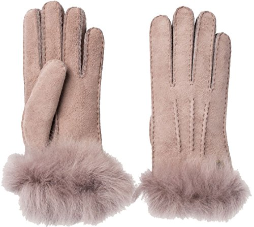 UGG Womens Sheepskin 3 Pt Toscana Glove In Stormy Grey Size Large by UGG