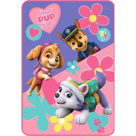 Nickelodeon's Paw Patrol Girl ''Paw Patrol Puppy Pals'' 62'' x 90'' Plush Blanket by Generic
