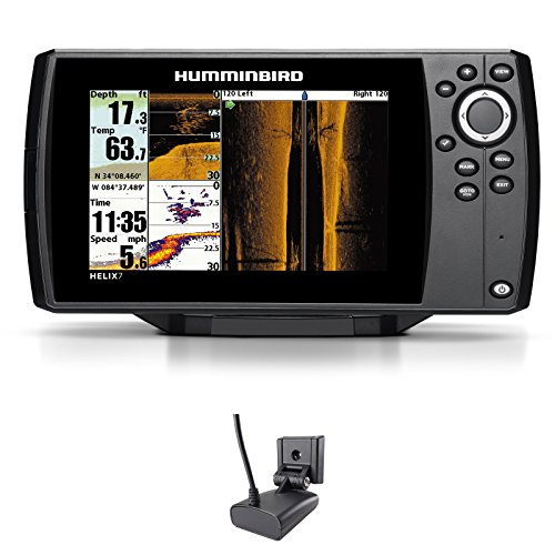 082324046438 upc helix 7 si gps side imaging humminbird for Side imaging fish finder