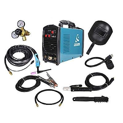 AnsenWelder IGBT Inverter Electric Welder 115V/230V Dual Voltage Tig&Stick DC Lift TIG Portable Welding Machine(160AMP/200AMP)
