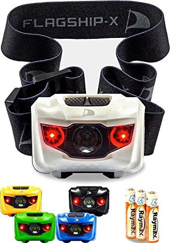 Insane Sale Flagship-X Waterproof CREE LED Camping Headlamp Flashlight for Running White