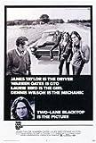 Two Lane Blacktop Poster Movie 11x17 James Taylor
