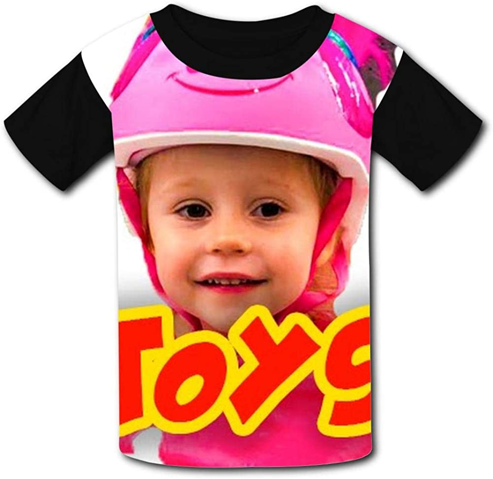 TSDDM Fu-nny S-ta-cy Boy Short Sleeve T-Shirt Childrens Cool Casual Shirt 3D Design