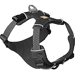 RUFFWEAR - Front Range, Everyday No Pull Dog Harness with Front Clip, Trail Running, Walking, Hiking, All-Day Wear, Twilight Gray (2016), Large/X-Large