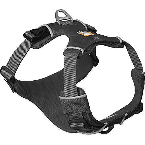 RUFFWEAR - Front Range, Everyday No Pull Dog Harness with Front Clip, Trail Running, Walking, Hiking, All-Day Wear, Twilight Gray (2016), Medium