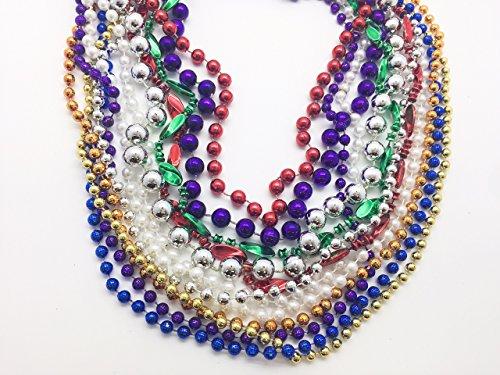 GIFTEXPRESS Mardi Gras Beads (Assorted) ()