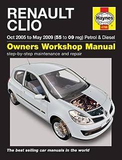 renault clio iii owners manual handbook 2006 2011 saloon sport rh amazon co uk renault clio 4 user manual pdf renault clio user manual pdf