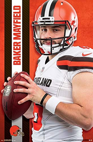 0b46a4c096a Image Unavailable. Image not available for. Color  Baker Mayfield - Cleveland  Browns ...