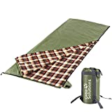 Camp Solutions XL Ultralight Flannel Lined Sleeping Bag