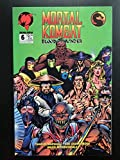 Mortal Kombat Blood and Thunder #6 1994 Malibu Comic Book Last issue in series