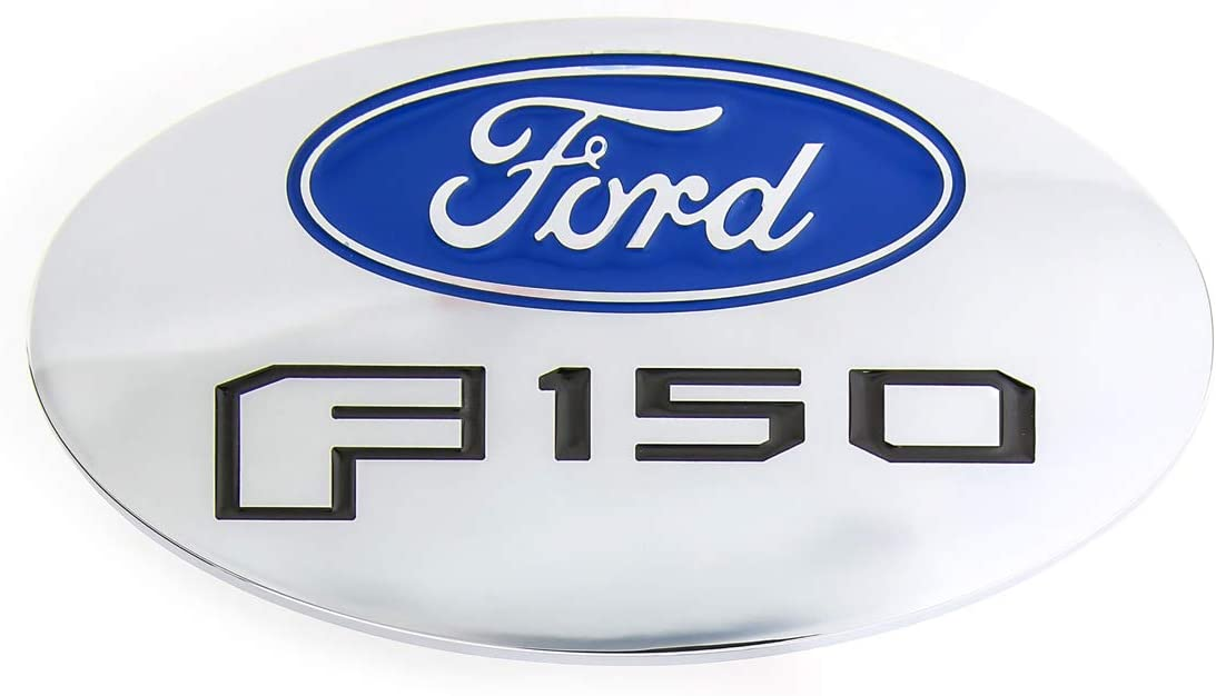 Ford F 150 Metal Trailer Hitch Cover Plug 2 inch Post