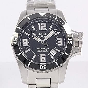 Ball Engineer Hydrocarbon Watch Ceramic Xv Black Dial 300m COSC ETA 2892 DM2136A-SC-