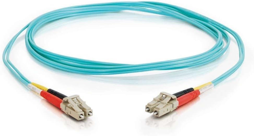 M - LC multi-mode C2G 33045 LC-LC 10Gb 50//125 OM3 Duplex Multimode PVC Fiber Optic Cable M aqua Patch cable OM3 LC multi-mode 50 // 125 micron fiber optic - 3.3 ft