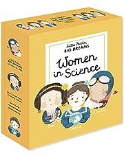 Little People, BIG DREAMS: Women in Science: 3 books from the best-selling series! Ada Lovelace - Marie Curie - Amelia Earhart