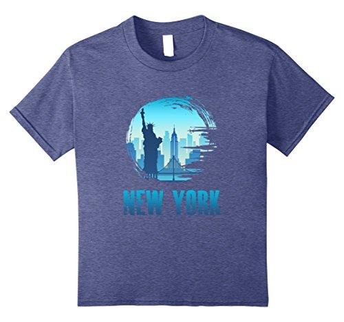 Kids Visit New York! Wanderlust, Famous Cities, Travelling Tee 8 Heather - New Avenue City Broadway York