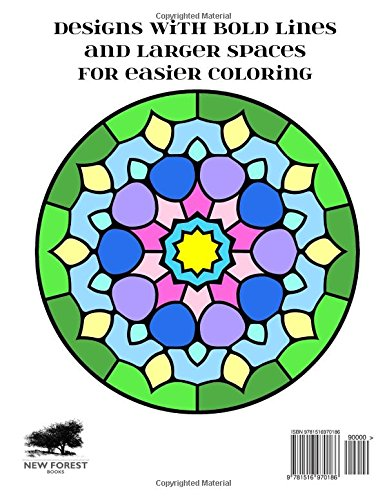 Bold And Easy Coloring Pages 1 For All Ages Aisling DArt 9781516970186 Amazon Books