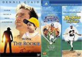 Disney Heartfelt Baseball Joints: The Rookie & Angels In The Outfield/ Angels In The Infield (3 DVD Pack)