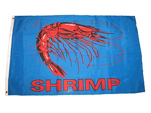 3x5 3/'x5/' Wholesale Set 5 Pack Advertising Shrimp Blue Business 5 Flags Flag