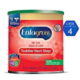 Enfagrow Toddler Next Step, Vanilla Flavor - Powder Can, 24 oz (Pack of 4)