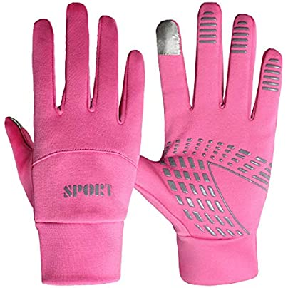 Full Finger Cycling Gloves Fashion Couple Winter Gloves Snow Gloves Warm Waterproof Windproof Ski Gloves Winter Windproof Snowboard Snow Warm Touch Screen Cold Weather Ladies Gloves Wristband Outdoor Estimated Price £17.09 -