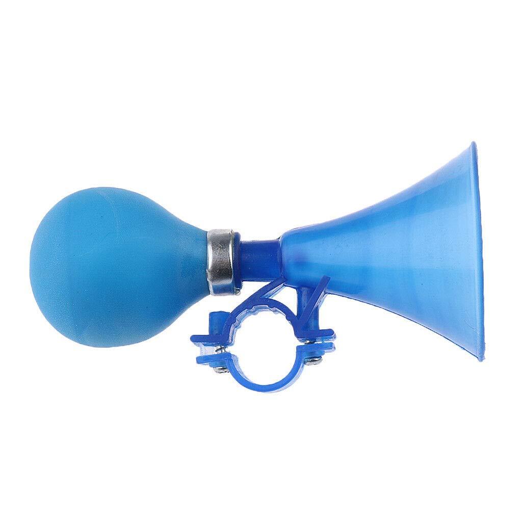 Plastic Bike Air Horn Loud Hooter Bell Portable Kids Children Bell Blue