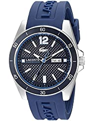 Lacoste Mens 2010803 Seattle Analog Display Japanese Quartz Blue Watch