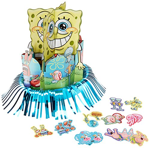 Table Decorating Kit | SpongeBob Collection | Party Accessory]()