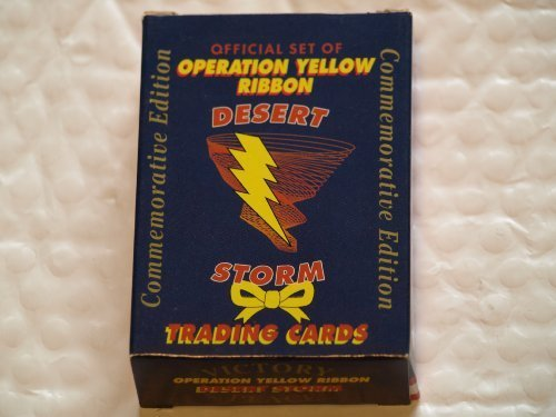 AAA Sports Desert Storm Operation Yellow Ribbin Trading Cards