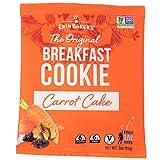 Erin Baker's Breakfast Cookies, Carrot Cake, Whole Grain, Vegan, Non-GMO, 3-ounce (Pack of 12)