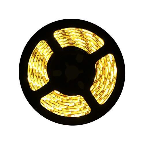 Led Light Strips Sunsbell Battery Powered LED Rope Lights Waterproof Flexible SMD 3528 LED Strip Lights (200cm/6.56ft, Warm White)