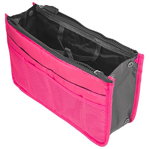 T-mobile Mytouch 3g Bling (Cell Accessories For Less (TM) Travel Organizer Handbag Purse Bag - Hot Pink for LG Mytouch E739 Bundle (Stylus & Micro Cleaning Cloth) - By TheTargetBuys)