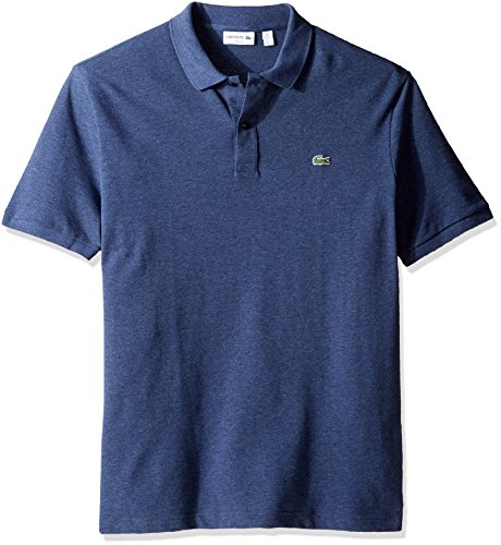 (Lacoste Men's Petit Piqué Slim Fit Polo Shirt, Philippines Blue Chine, XX-Large)