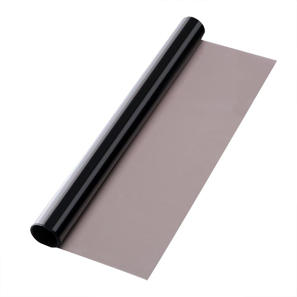 NOPNOG Adhesivo Protector para Parasol de Coche (0,5 x 3 m), Color Gris