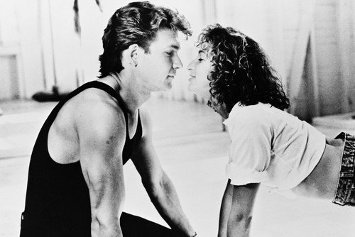 Dirty Dancing Patrick Swayze J Grey Poster On Floor