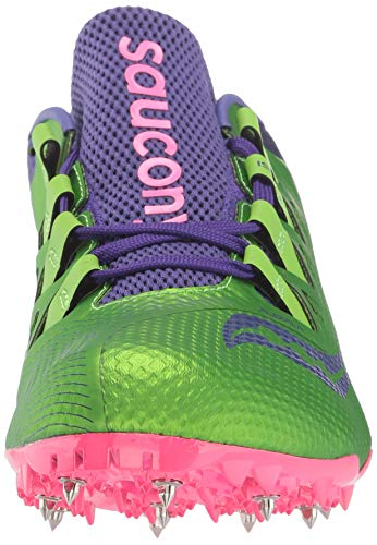 Saucony Showdown 4 Women 6.5 Slime | Purple by Saucony (Image #4)