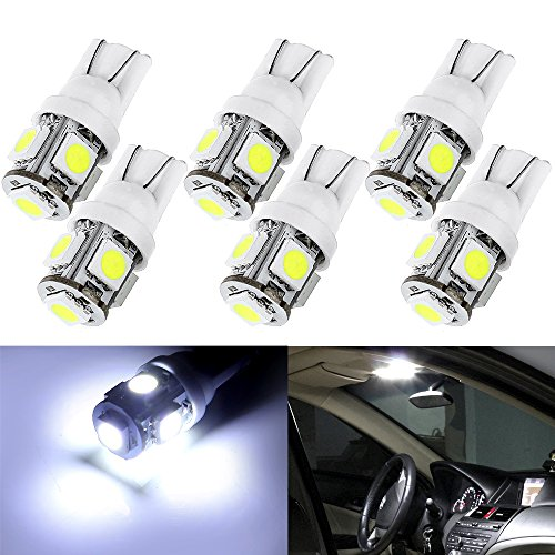 cciyu-6-pcs-bright-white-t10-5-smd-wedge-led-bulbs-194-168-2825-instrument-dash-light-bulb-us-ship-f