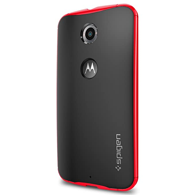 51 opinioni per Spigen SGP11240 Custodia per Google Nexus 6, Rosso