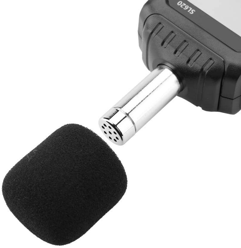 30~135dB Schallpegelmesser SL620 Digital Noise Tester Schallmessger/ät mit LCD-Hintergrundbeleuchtung Speicherdatum