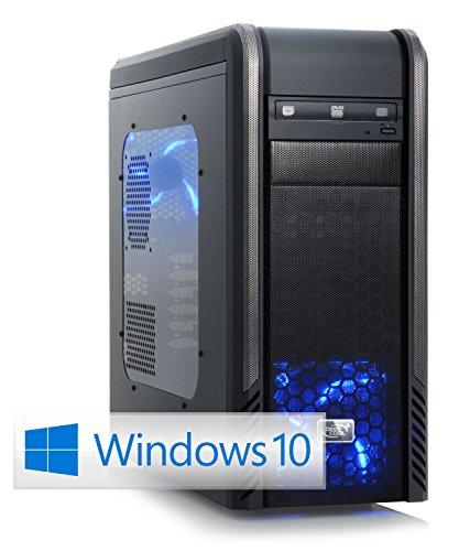 CSL Speed X4838 (Core i7) Skylake inkl. Windows 10 - Intel Core i7-6700K 4x 4000 MHz, 16 GB DDR4 RAM, 250GB SSD, 1000GB HDD, GeForce GTX 1060, DVD, USB 3.0